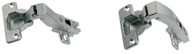 Bisagra cazoleta 35 mm con freno. 45º y 90º.
